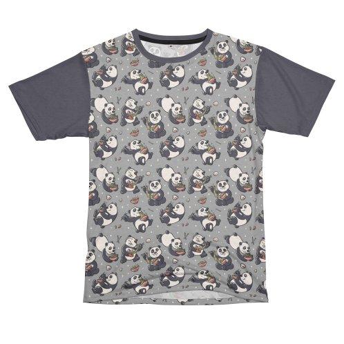 image for Pattern Ramen Pandas