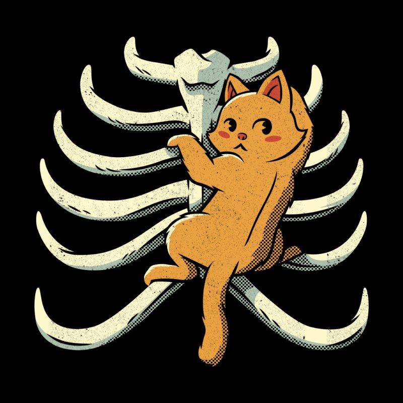 Cat Ribs Love Men's T-Shirt by Tobe Fonseca's Artist Shop