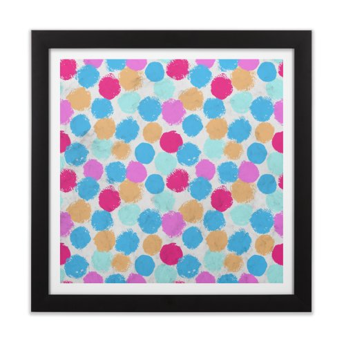 image for Rainbow Spots Circle Pattern