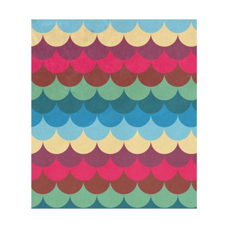 Colorful Mermaid Pattern by Tobe Fonseca's Artist Shop