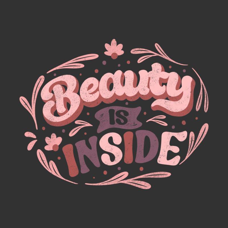 Beauty is Inside Women's T-Shirt by Tobe Fonseca's Artist Shop