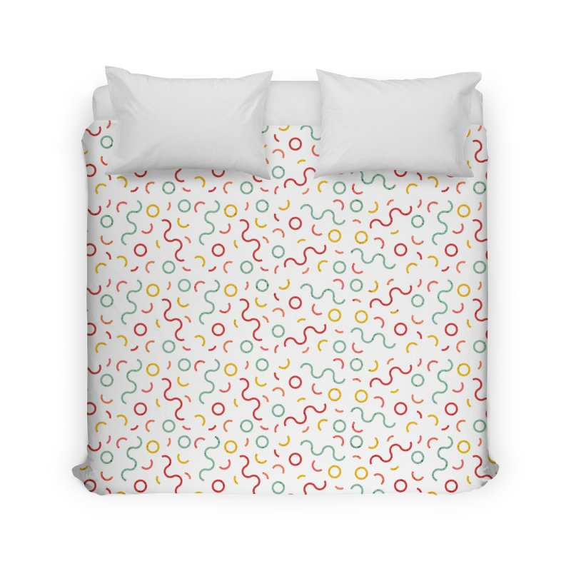 Funky DNA Home Duvet by Tobe Fonseca's Artist Shop