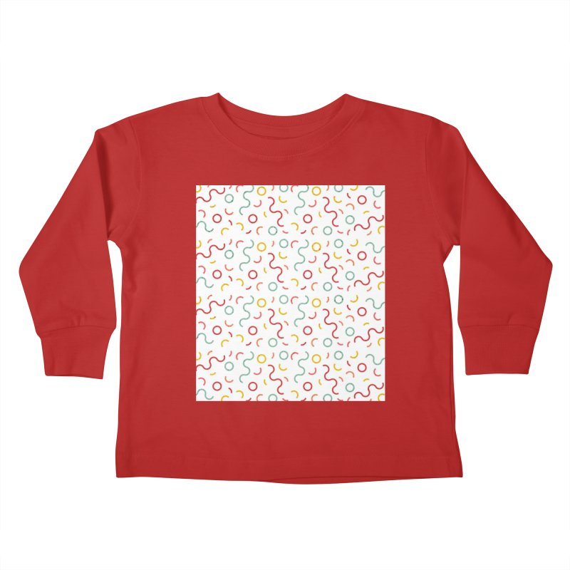 Funky DNA Kids Toddler Longsleeve T-Shirt by Tobe Fonseca's Artist Shop