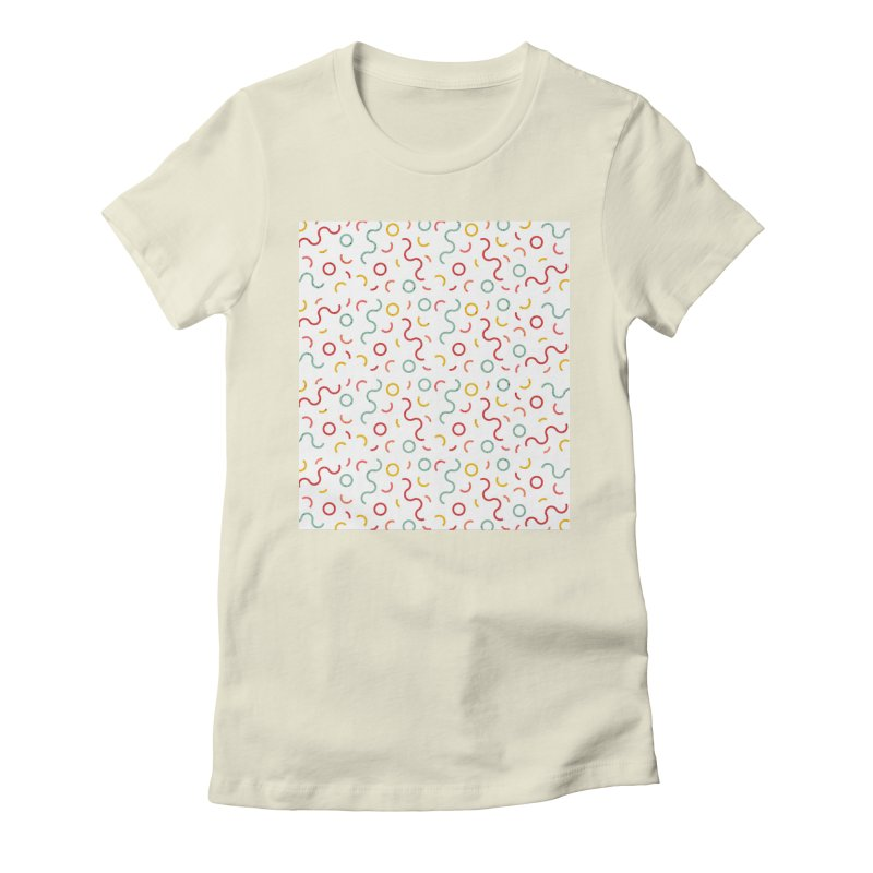 Funky DNA Women's Fitted T-Shirt by Tobe Fonseca's Artist Shop