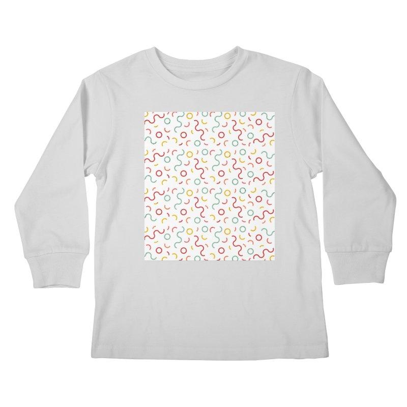 Funky DNA Kids Longsleeve T-Shirt by Tobe Fonseca's Artist Shop