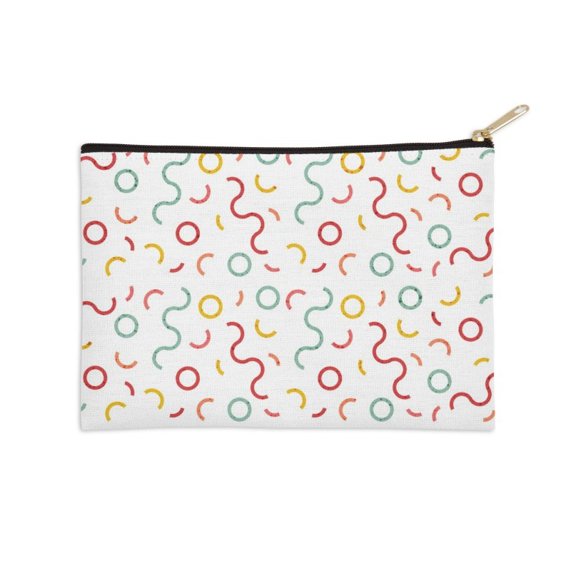 Funky DNA Accessories Zip Pouch by Tobe Fonseca's Artist Shop