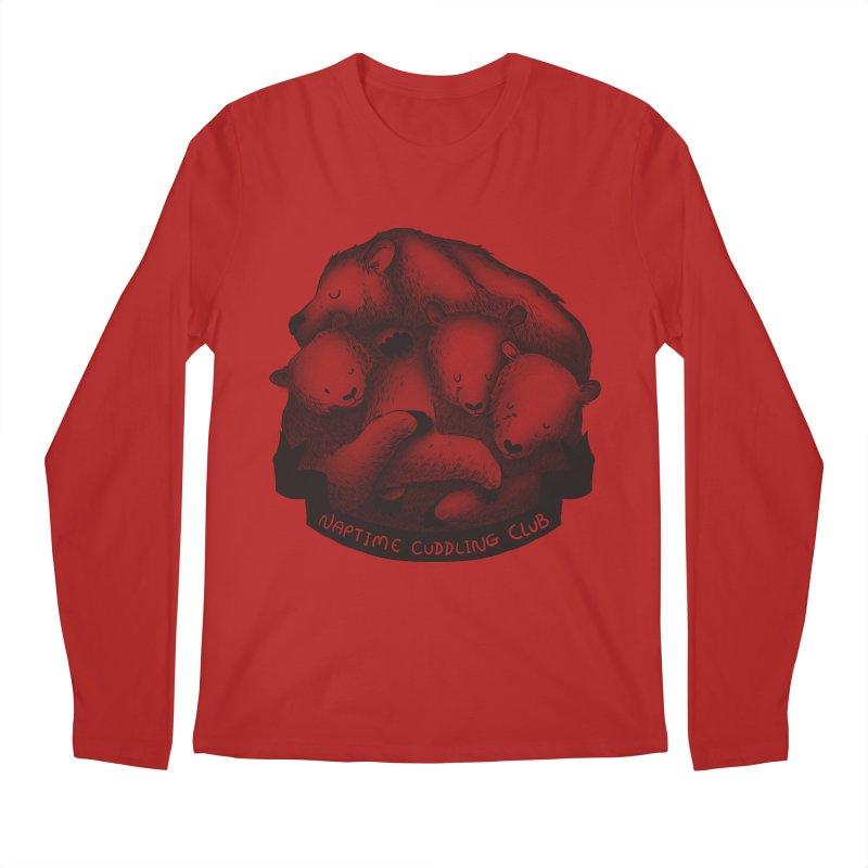 Naptime Cuddling Club Men's Longsleeve T-Shirt by Tobe Fonseca's Artist Shop