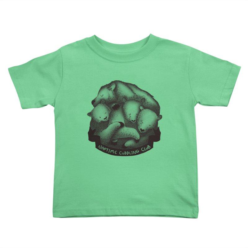 Naptime Cuddling Club Kids Toddler T-Shirt by Tobe Fonseca's Artist Shop