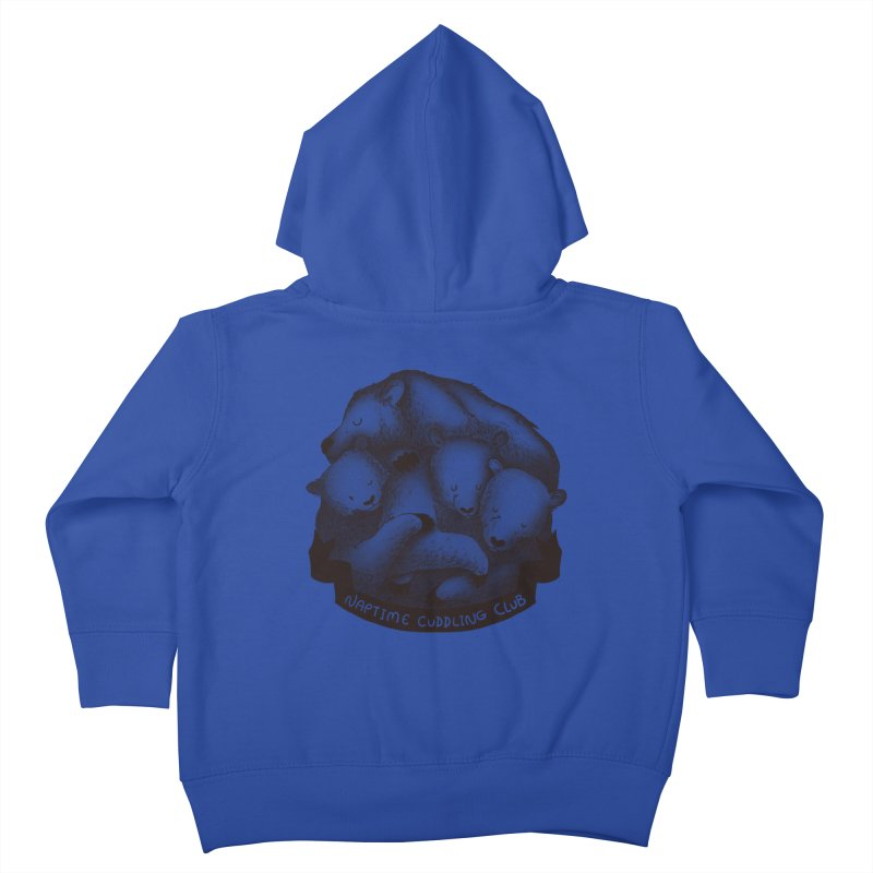 Naptime Cuddling Club Kids Toddler Zip-Up Hoody by Tobe Fonseca's Artist Shop