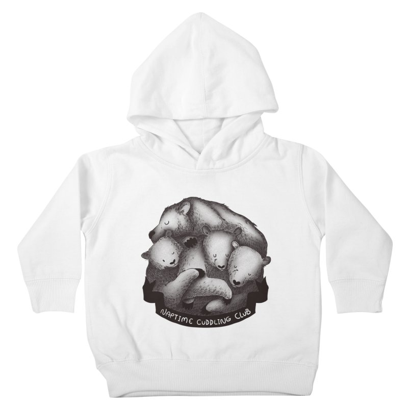 Naptime Cuddling Club Kids Toddler Pullover Hoody by Tobe Fonseca's Artist Shop