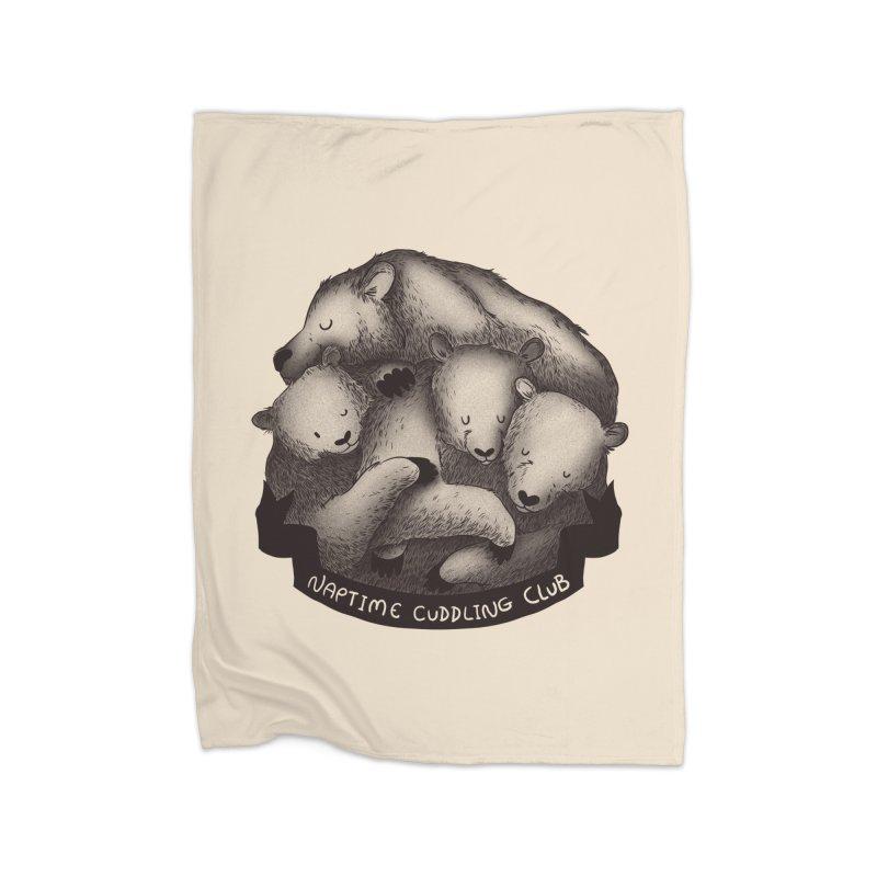 Naptime Cuddling Club Home Blanket by Tobe Fonseca's Artist Shop