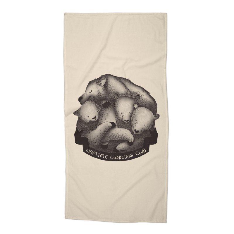 Naptime Cuddling Club Accessories Beach Towel by Tobe Fonseca's Artist Shop