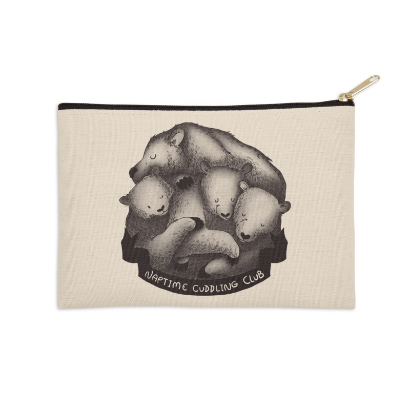 Naptime Cuddling Club Accessories Zip Pouch by Tobe Fonseca's Artist Shop
