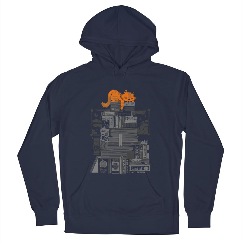 Sleeping on my threasure black and white Men's Pullover Hoody by Tobe Fonseca's Artist Shop