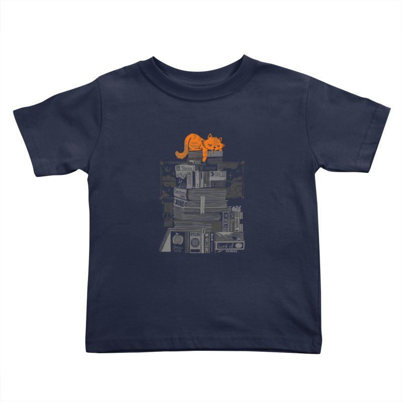 Sleeping on my threasure black and white Kids Toddler T-Shirt by Tobe Fonseca's Artist Shop