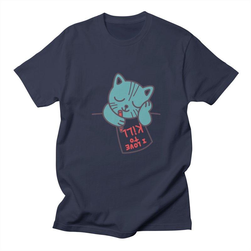 I Love To Kill Cat Women's Unisex T-Shirt by Tobe Fonseca's Artist Shop