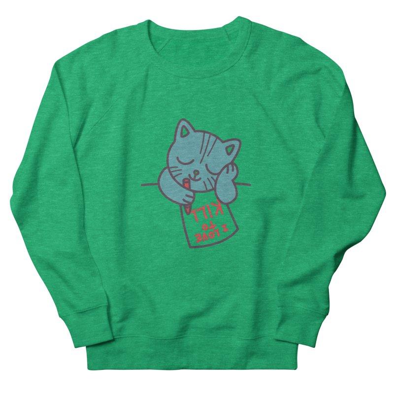 I Love To Kill Cat Men's Sweatshirt by Tobe Fonseca's Artist Shop