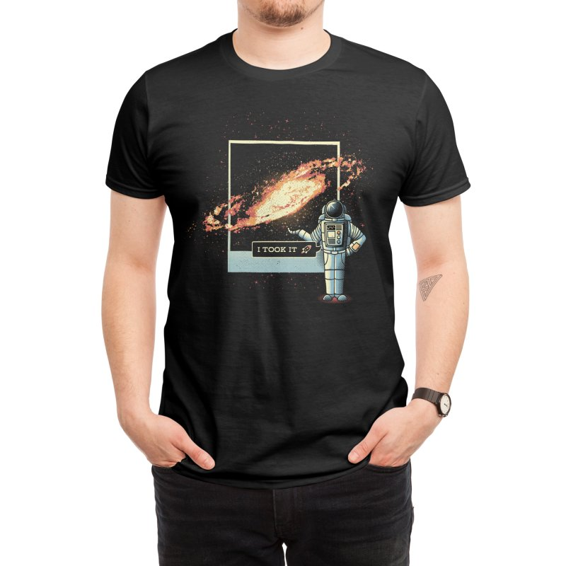 Astronaut Astro Photography of The Universe Men's T-Shirt by Tobe Fonseca's Artist Shop