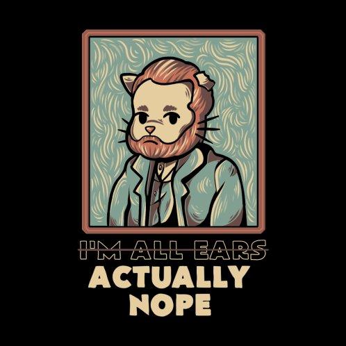 Design for Cat Van Gogh Funny Quote