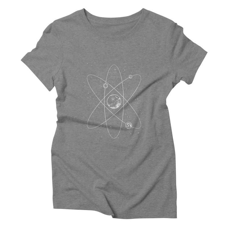 Atom Women's Triblend T-shirt by Tobe Fonseca's Artist Shop