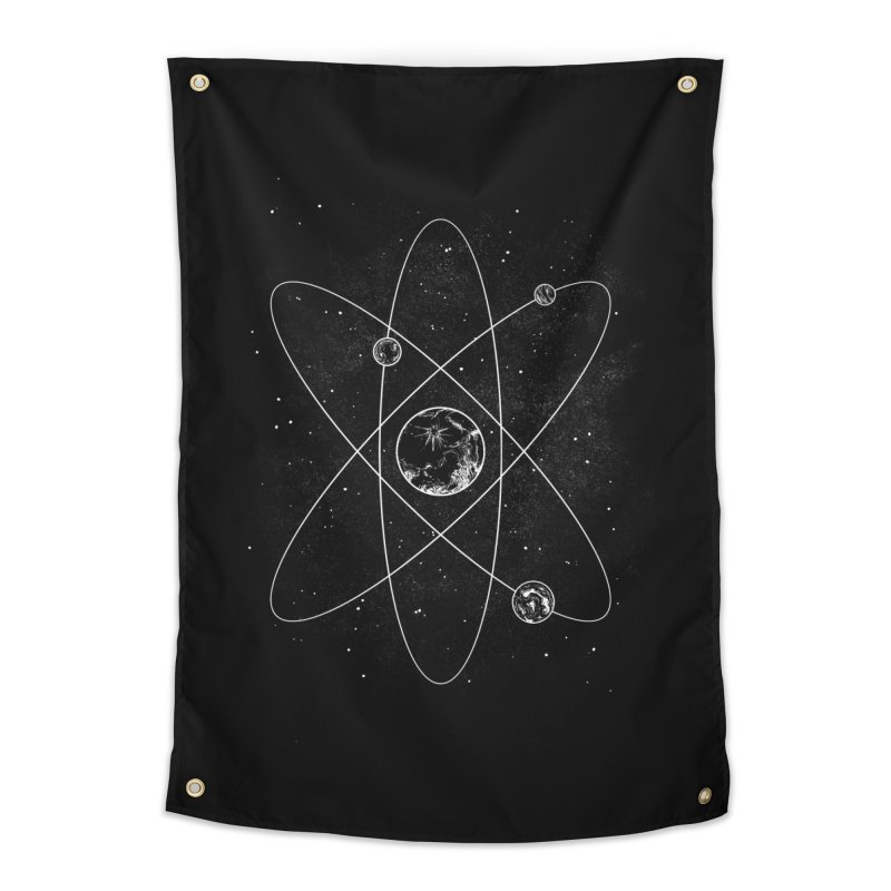 Atom Home Tapestry by Tobe Fonseca's Artist Shop