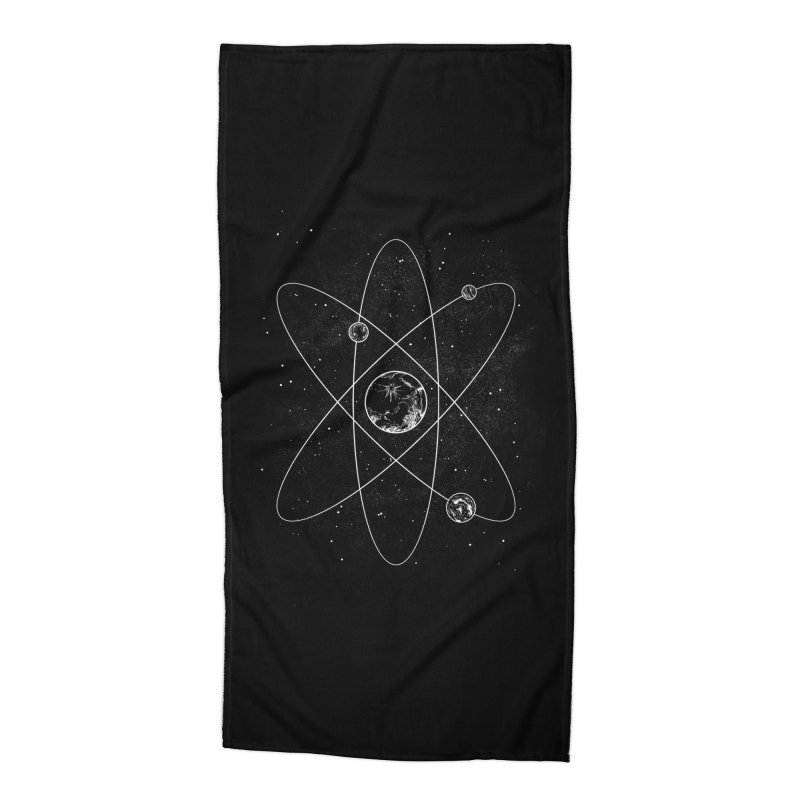 Atom Accessories Beach Towel by Tobe Fonseca's Artist Shop
