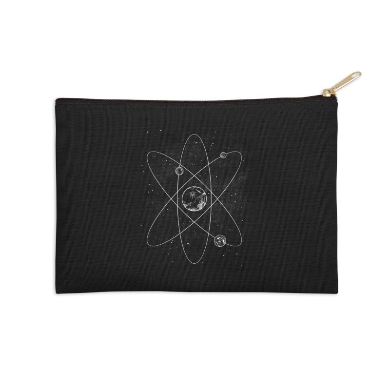 Atom Accessories Zip Pouch by Tobe Fonseca's Artist Shop