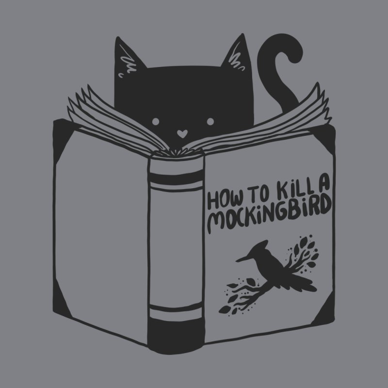 How To Kill a Mockingbird Men's T-Shirt by Tobe Fonseca's Artist Shop