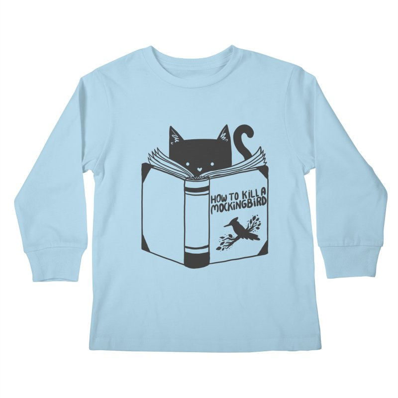 How To Kill a Mockingbird Kids Longsleeve T-Shirt by Tobe Fonseca's Artist Shop
