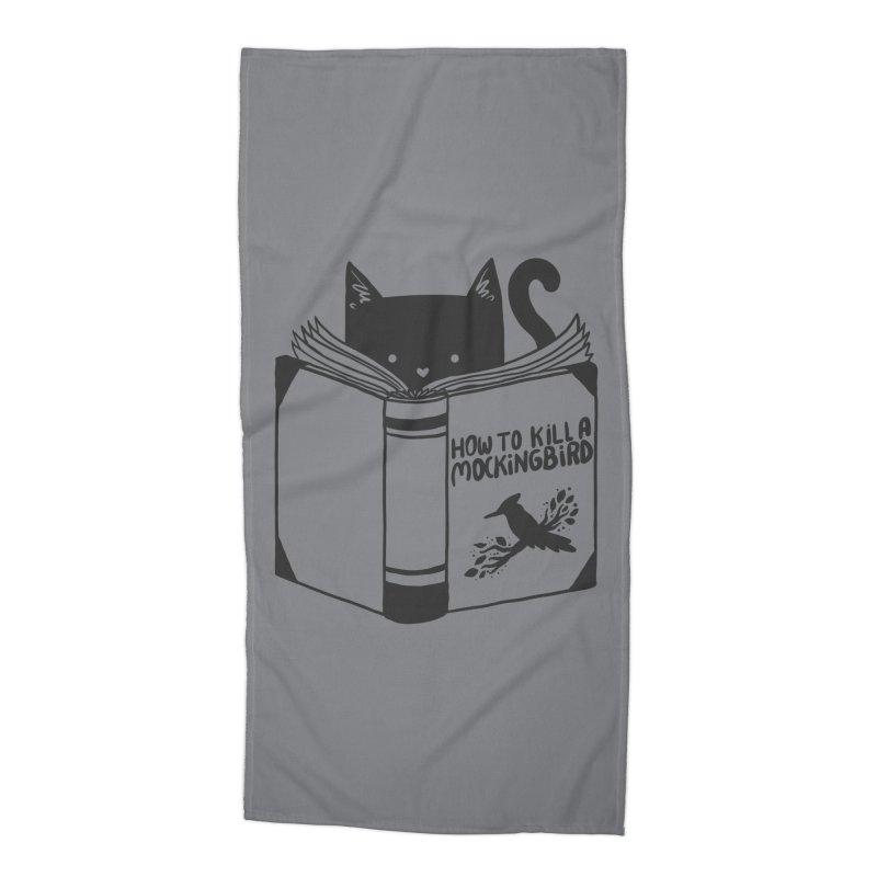 How To Kill a Mockingbird Accessories Beach Towel by Tobe Fonseca's Artist Shop