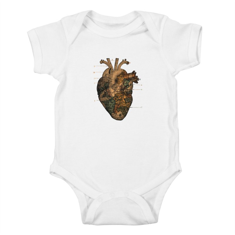 Ill Find You Kids Baby Bodysuit by Tobe Fonseca's Artist Shop