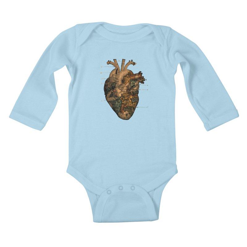 Ill Find You Kids Baby Longsleeve Bodysuit by Tobe Fonseca's Artist Shop