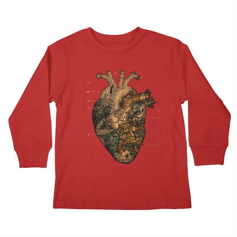 Ill Find You Kids Longsleeve T-Shirt by Tobe Fonseca's Artist Shop