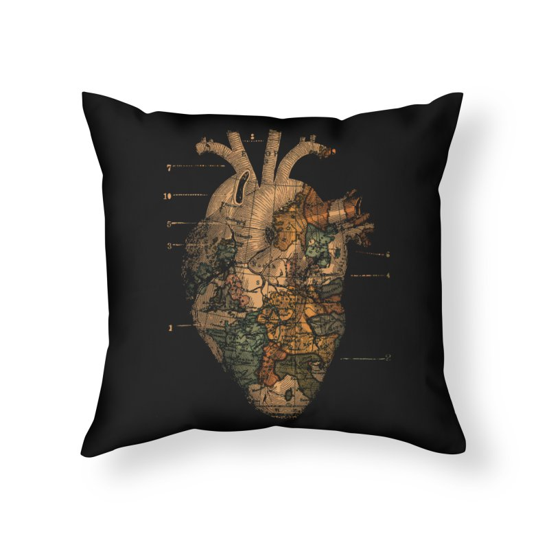 Ill Find You Home Throw Pillow by Tobe Fonseca's Artist Shop