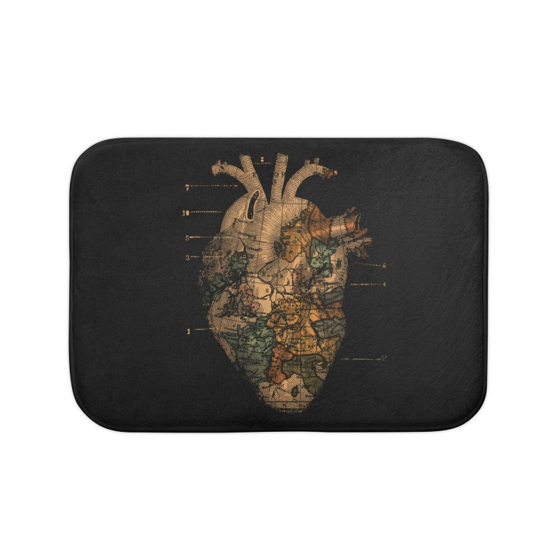 Ill Find You Home Bath Mat by Tobe Fonseca's Artist Shop