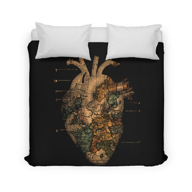Ill Find You Home Duvet by Tobe Fonseca's Artist Shop