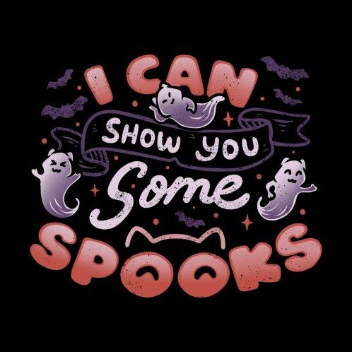 Design for I Can Show You Some Spooks
