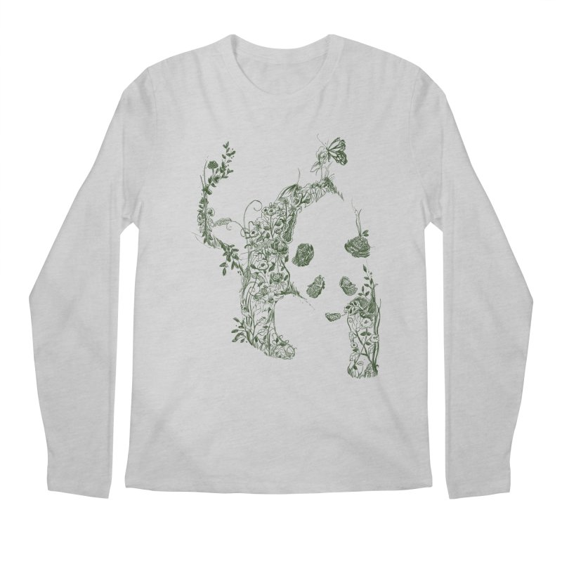 Sketch of Nature Men's Longsleeve T-Shirt by Tobe Fonseca's Artist Shop