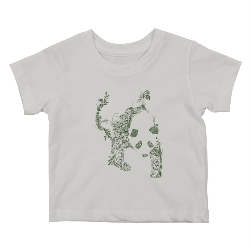 Sketch of Nature Kids Baby T-Shirt by Tobe Fonseca's Artist Shop