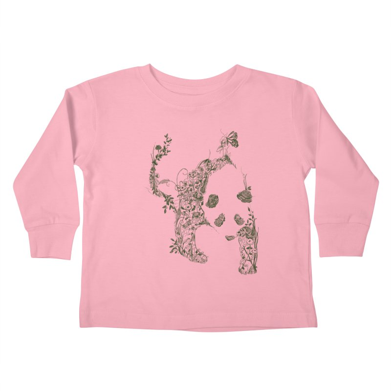 Sketch of Nature Kids Toddler Longsleeve T-Shirt by Tobe Fonseca's Artist Shop