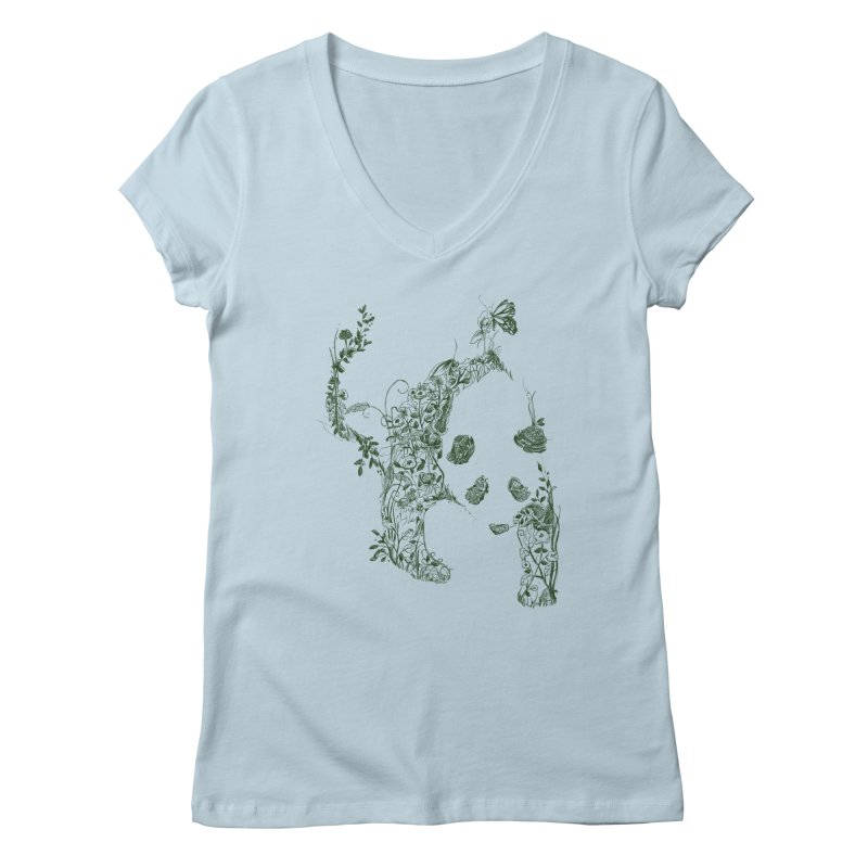 Sketch of Nature Women's V-Neck by Tobe Fonseca's Artist Shop