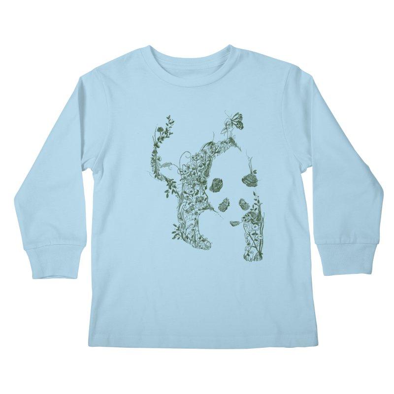 Sketch of Nature Kids Longsleeve T-Shirt by Tobe Fonseca's Artist Shop