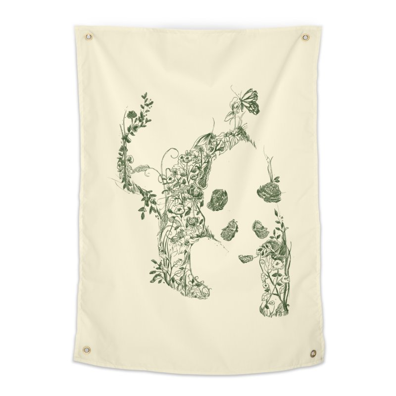 Sketch of Nature Home Tapestry by Tobe Fonseca's Artist Shop