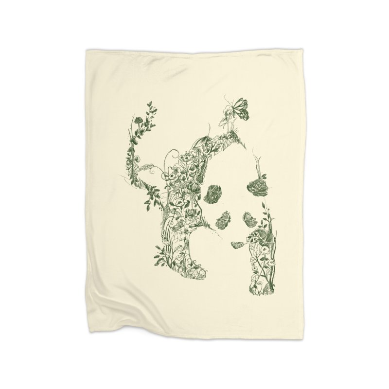 Sketch of Nature Home Blanket by Tobe Fonseca's Artist Shop