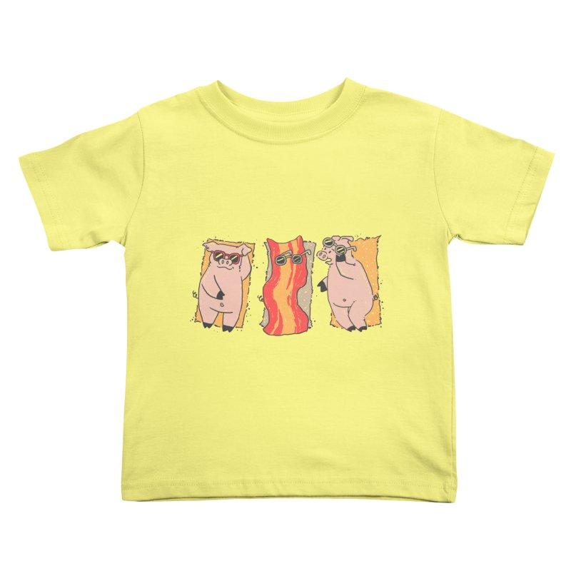 Sunscreen Kids Toddler T-Shirt by Tobe Fonseca's Artist Shop