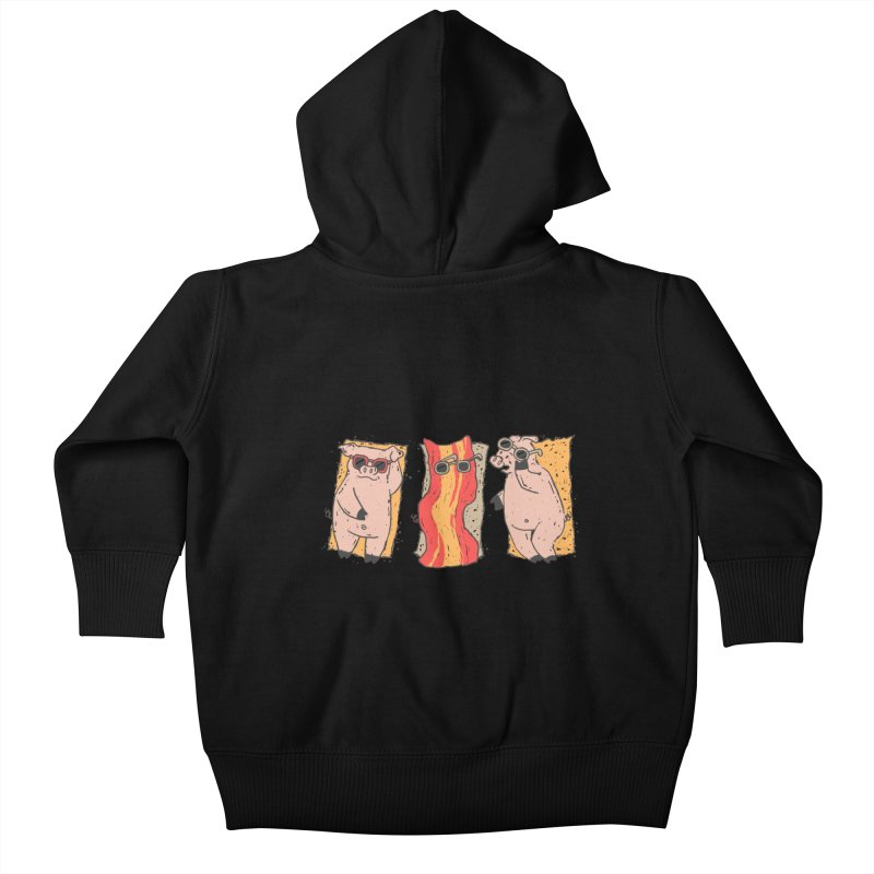 Sunscreen Kids Baby Zip-Up Hoody by Tobe Fonseca's Artist Shop