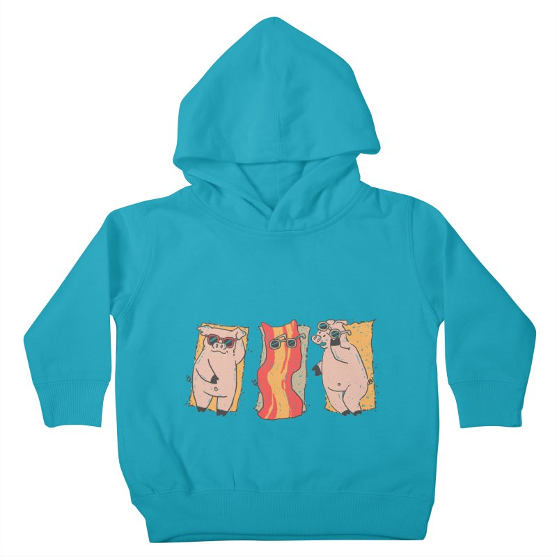 Sunscreen Kids Toddler Pullover Hoody by Tobe Fonseca's Artist Shop