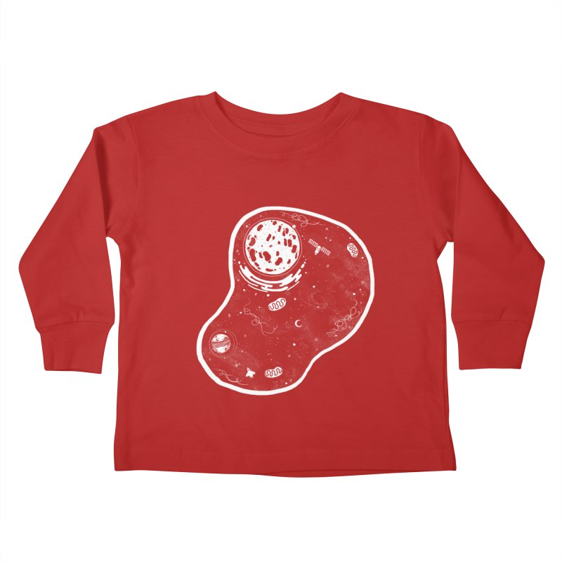 Our Cell Kids Toddler Longsleeve T-Shirt by Tobe Fonseca's Artist Shop