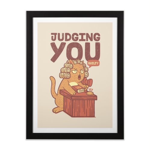 image for I'm Judging You Cat T-Shirt