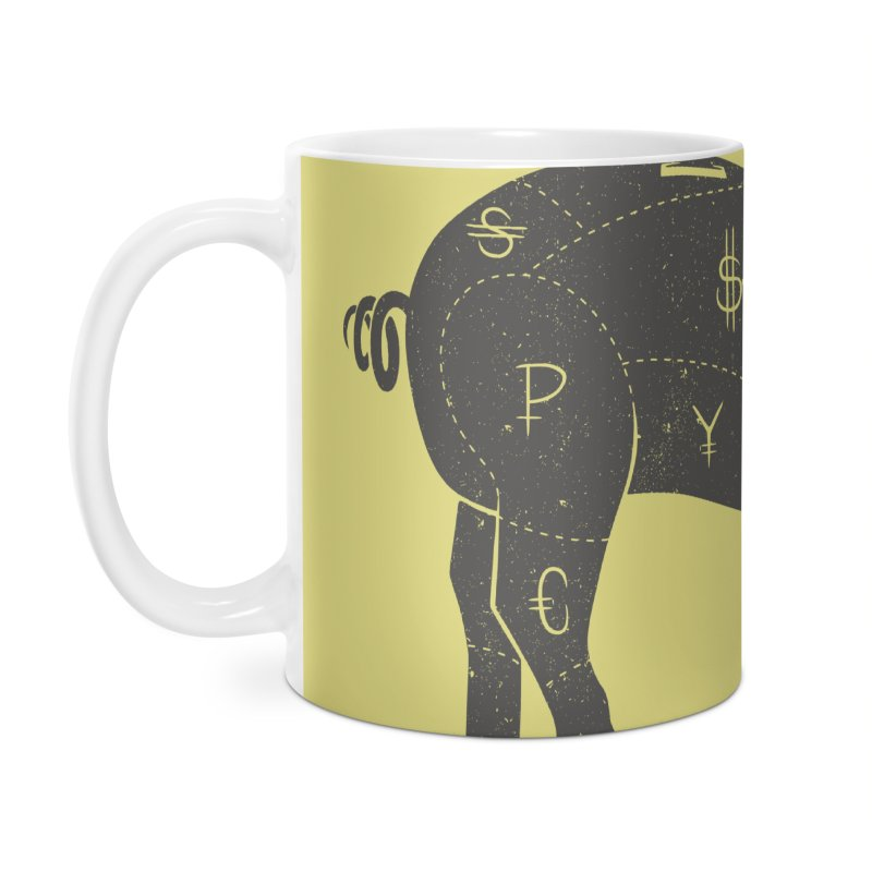 Piggy Bank Accessories Mug by Tobe Fonseca's Artist Shop